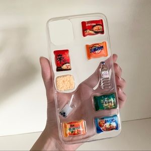 New 3D snack iPhone 11 Pro Max case